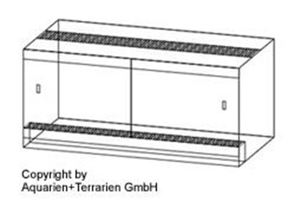 Bild von Quadra-Terrarium 60x40x50cm/4mm