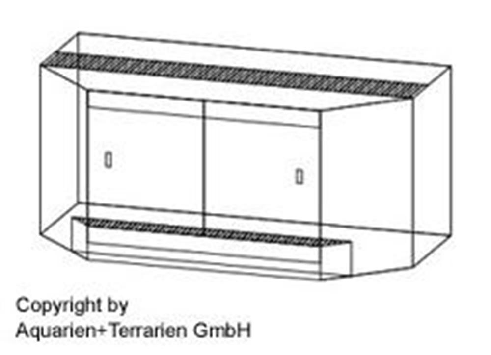 Bild von Panorama-Terrarium 100x60x60cm/6mm