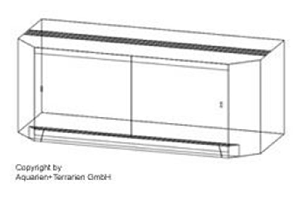 Bild von Panorama-Terrarium 150x70x70cm/8mm