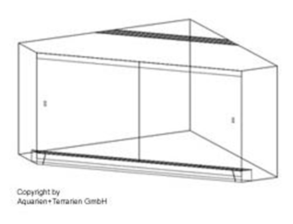 Bild von Penta-Terrarium 110x110/25x90cm