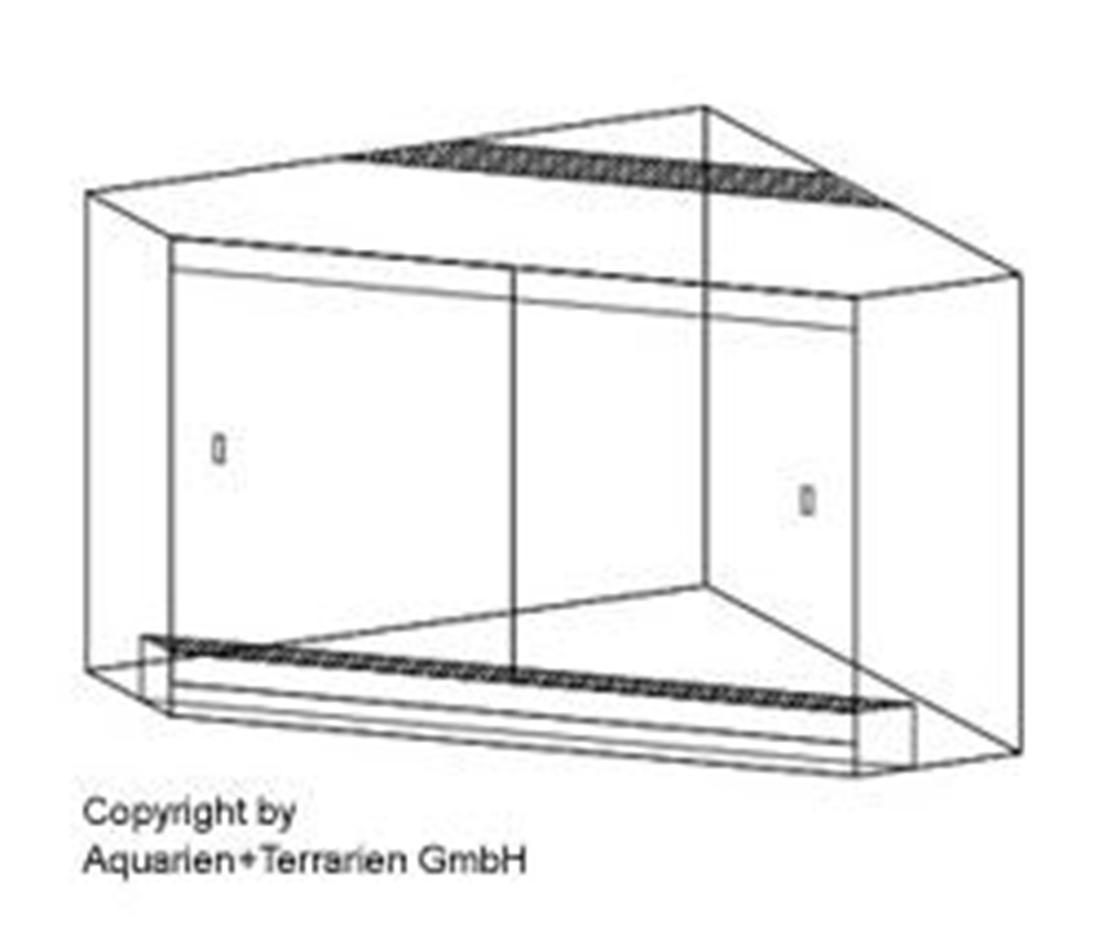 Bild von Penta-Terrarium 70x70/20x70cm