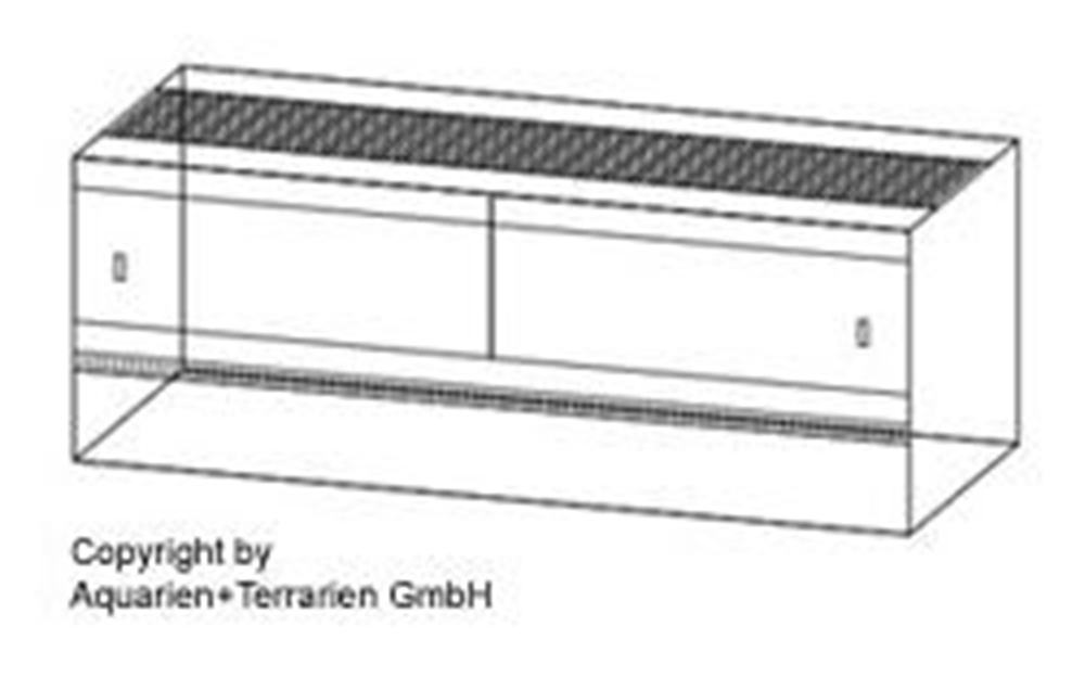 Bild von Nager-Terrarium 80x40x50cm/4mm