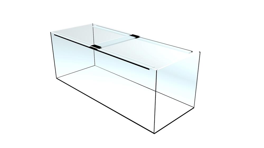 Bild von Quadra-Aquarium 150x60x50cm/10mm